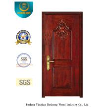 Porta de segurança clássica com entalhe especial (b-6016)