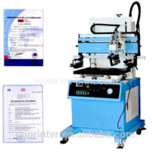 semi-automatic screen printing mahchine with vacuum table for bag