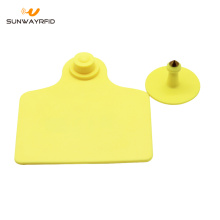 860-960MHZ UHF Animal RFID Ear Tag