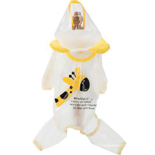 Four-Legged Waterproof Small Puppies Teddy Corgi All-Inclusive Rain Clothes