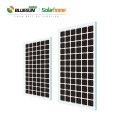 Bluesun new 4BB panels 320w 330w 340w bipv solar panel power mono transparent panel