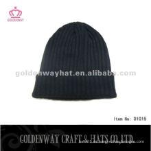 Hombres de punto de moda patrón de sombrero de gorro