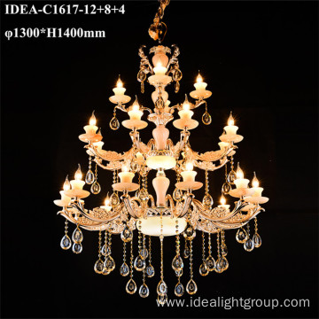 zinc alloy chandeliers pendant candle lights