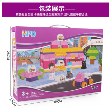 Educational Building Block Toy for Girls