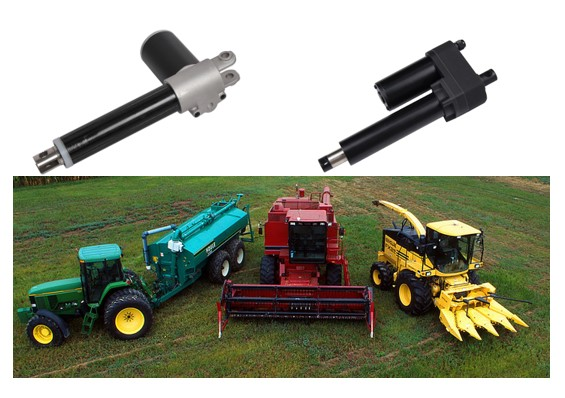 Electric Linear Actuator for agriculture machine