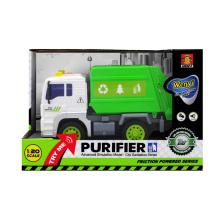 Camión de fricción juguete coche de construcción coche de limpieza ciudad (h4912009)