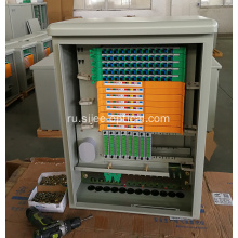 144 Cores Compact Fibre Optic Cross Connect Cabinet