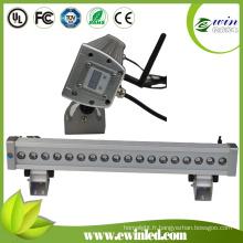 Rondelle de mur de RVB LED pour extérieur