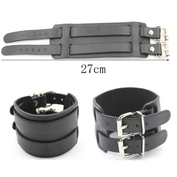 Nouveau bracelet en cuir de bricolage 27cm pour bracelet cadeau pour homme Bracelet