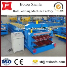 Customized for Double Layer Roll Forming Machine Color Coil Roof Automatic Profile Double Layer Machine supply to Tuvalu Manufacturers