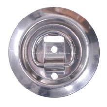anneaux en D en acier inoxydable