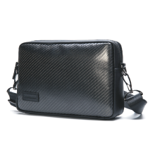 Muti-use Carbon fiber men bag
