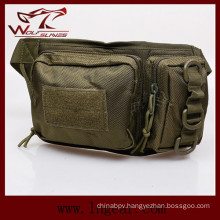Military Nylon Double Pouch Waist Bag for Sport Bag