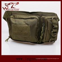 Militärische Nylon Doppel Tasche Gürteltasche für Sporttasche