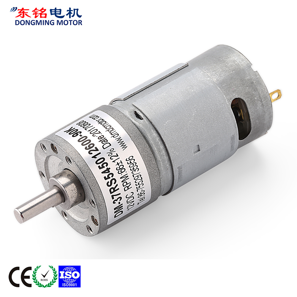 12 volt geared motors