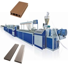 Wood plastic composite wpc profiles extrusion line