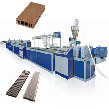Wood Plastic Composite sheet Extrusion Process