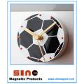 Creative Fashion Soccer Silent Fridge Magnetic Clock