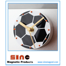 Creative Fashion Soccer Silent Fridge Magnetic Clock