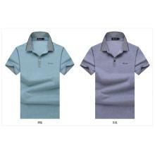Soem-Baumwollmann-formale T-Stücke Kurzes Hülsen-Qualitäts-Sommer-Hemd für Männer