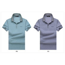 OEM Cotton Men Formal Tees Short Sleeve High Quality Summer Shirt for Men