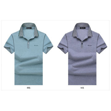 OEM Algodão Homens T Formal manga curta Camisa de Verão de alta qualidade para homens