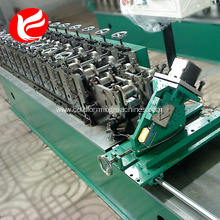 Steel keel light frame gauge sheeting furring channel cold roll forming machine