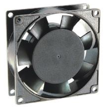 230 v 80 * 80 * 25 mm de aluminio fundido a troquel CE Fans Ec8025