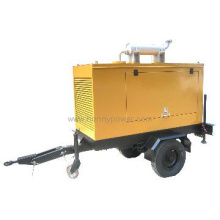 Mobile Generator with Two /Four Wheel Trailer