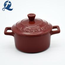 Hitzebeständiger Kochgeschirr Keramikauflauf