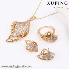 63803-Xuping Costume Find Jewelry Nuevo diseño Wedding Sets para mujeres