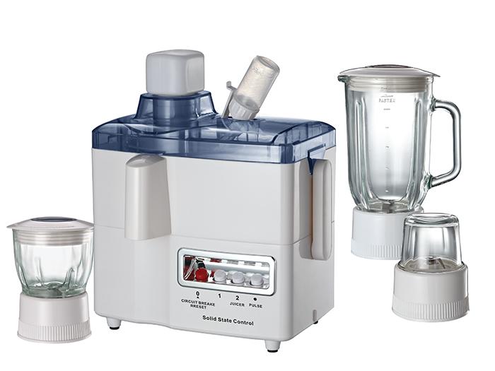 Plastic jar food processor 4 in 1