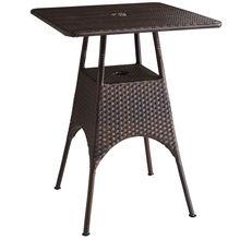 Résine de Rotin osier jardin-patio Bar Set Table extérieur