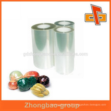 High shrinkage glossy pet film roll for packaging