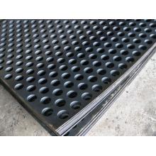 Malla de metal perforado de grosor pesado