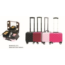 2017 Hot Selling Train Trolley Makeup Case for the Professional Makeup Artist