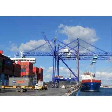 Werft Ship to Shore Portalkräne mit Dwg