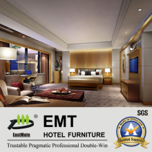 Conjunto de Dedroom de Mobiliário de Hotel (EMT-Pattern E1)