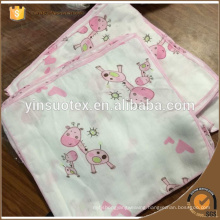 baby use bamboo cotton saliva towel soft bibulous