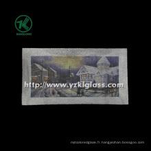 Plaque en verre à simple paroi murale par SGS (KLP120912-18)
