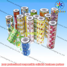 Promotional Bottle Stickers For Customer , Food Packaging Films