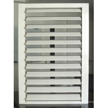 Fenêtre à vantail à fond fixe en aluminium résistant à l'eau