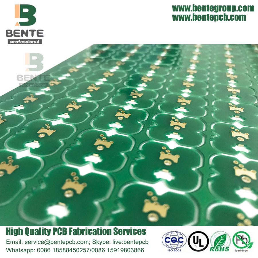 Ultrathin Piccolo CNC Slot 2 Layer Prototipo PCB