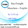 Shenzhen Port LCL Consolidation To Trujillo