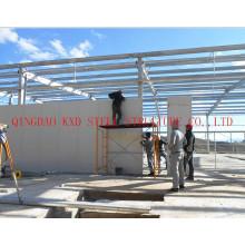 Vorgefertigte leichte Baustahl Lager/Werkstatt