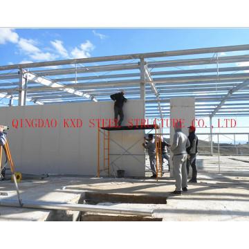 Préfabriqués en acier structurel léger entrepôt/atelier