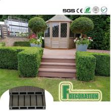 Holzlaminat-Bodenbelag-Decking im Freien