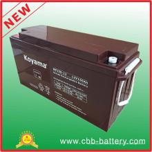 Bateria AGM Long Life 12V 150ah AGM para Solar Street Light System