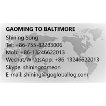 Foshan Gaoming to United States Baltimore