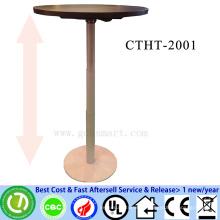 single leg height adjustable iron meeting table plywood manufacturers in kerala